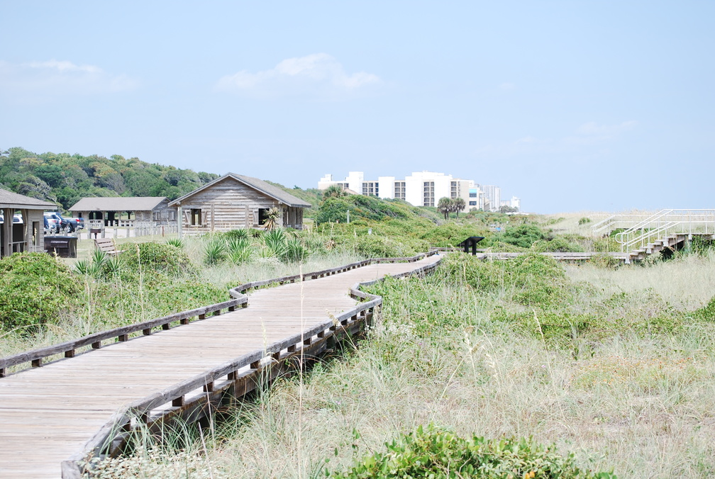 Myrtle Beach State Park Boardwalk