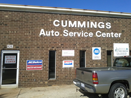 Cummings Auto Service Center - closed