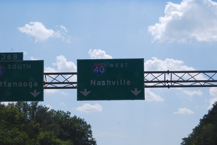 Heading Towards Nashville, TN