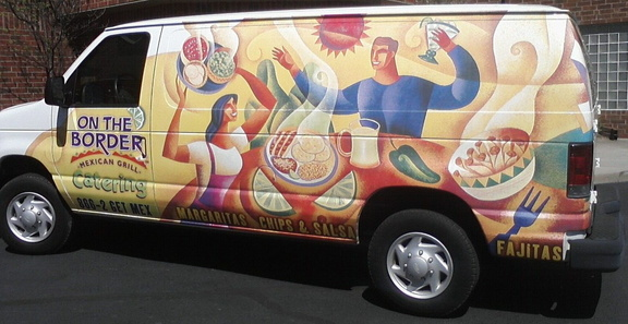 On the Border Catering Van