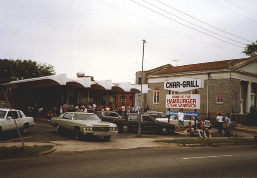 Char-Grill, Raleigh, NC, 24 years ago