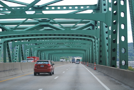 Bridge over Kanawha River