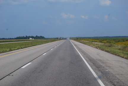 Eastbound in Illinois