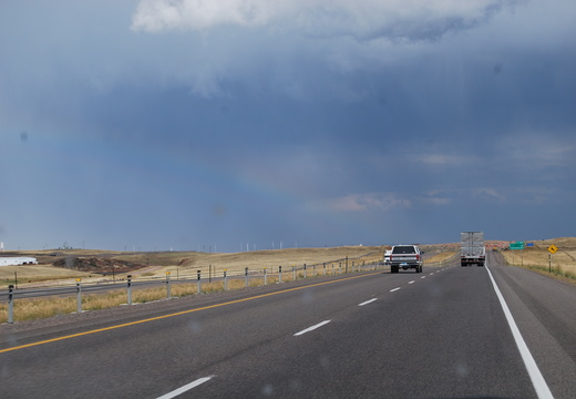 Driving into Storm