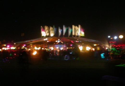 Center Camp at Night