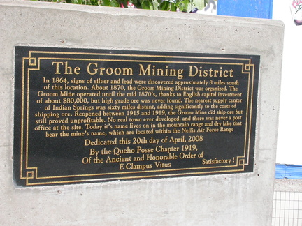 The Groom Mining District