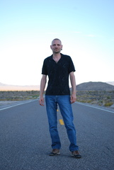 Brian on the Extraterrestrial Highway -- 8/28/09