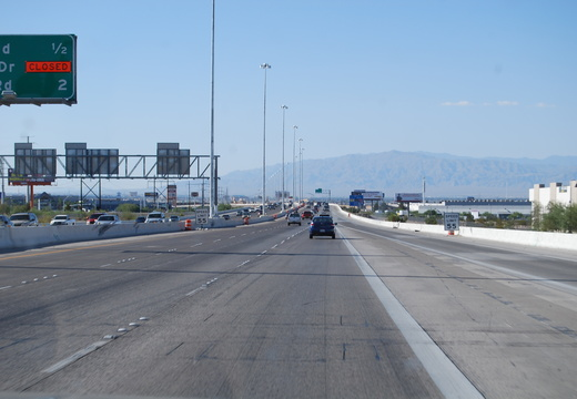 Route 95 Through Vegas