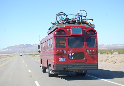 Big Red Burner Bus