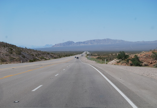Northbound on Route 95