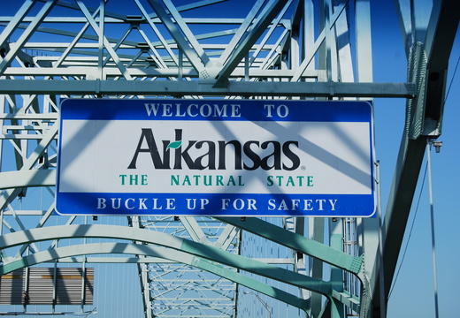 Welcome to Arkansas! -- 8/25/09