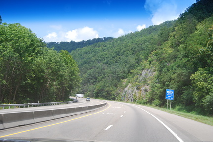 I-40 Westbound in Tennessee