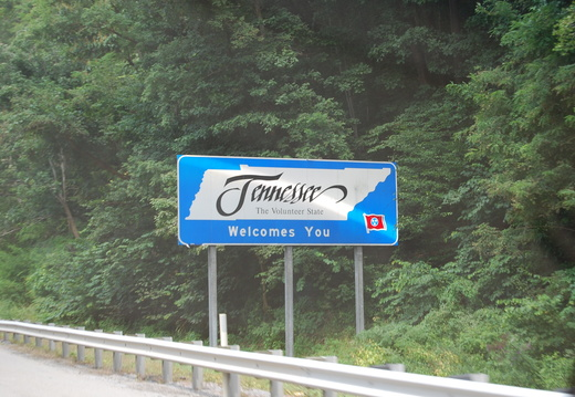 Welcome to Tennessee! -- 8/24/09