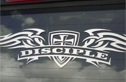 Disciple Decal