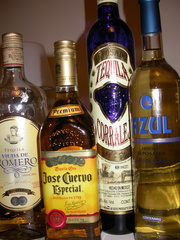 A Selection of Tequilas