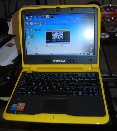 Puppy Linux 4.20 Update on Sylvania Meso Netbook