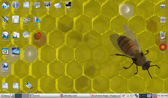 More Puppy Linux Fun on Sylvania Meso Netbook