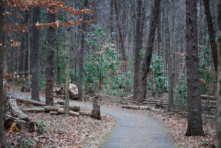 Trail at Battleground Park
