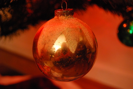 Antique Christmas Tree Ball