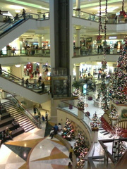 Crawling the Mall on the Saturday Before Christmas