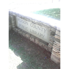 Person County Public Library, Roxboro, NC