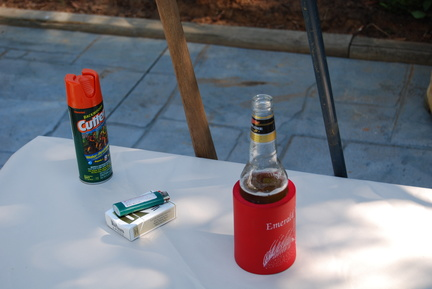 Bug Spray, Cigs and Beer