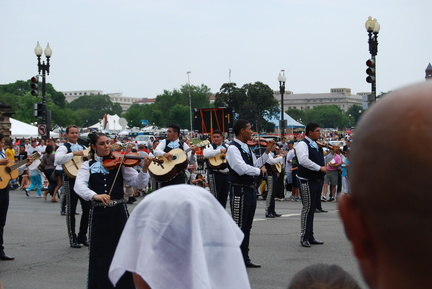 Mariachi Band Playing Stars and Stripes Forever