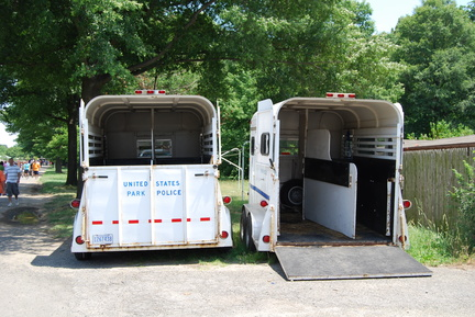 United States Park Police Horse Trailers