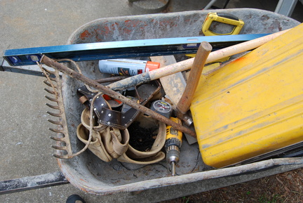 Wheelbarrow Full of Tools