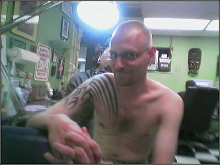 Brian Getting Tattooed