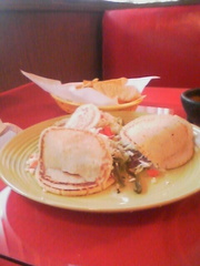 Delicious Gorditas at Las Amacas. Wilson, NC