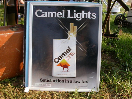 Camel Lights Older Logo