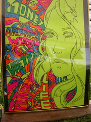 Groovy Blacklight Poster