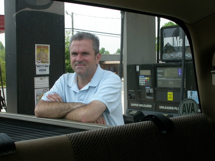 David Buying Gas