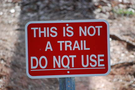 Not a Trail