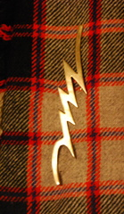 Lightning Bolt Kilt Pin