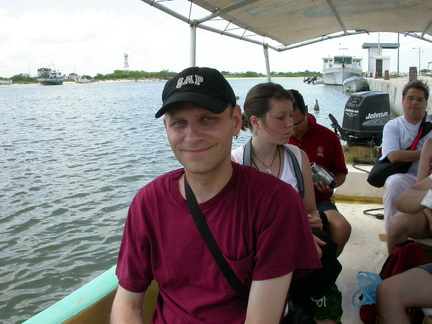 Brian on the Boat