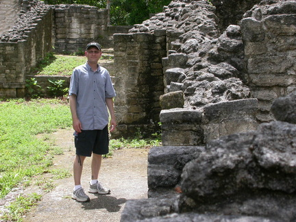 Brian with Ruins