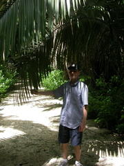 Brian with Big Palm
