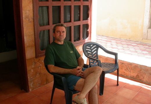 David on the Veranda