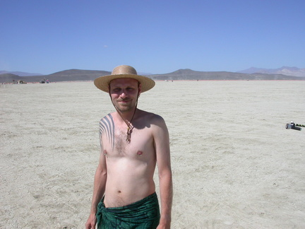 Brian on the Playa