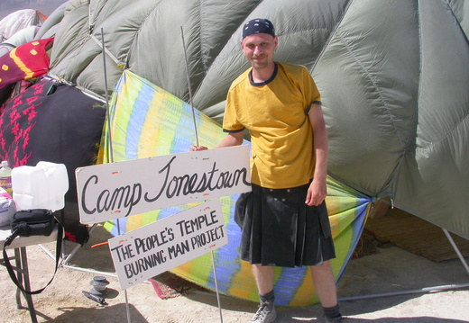 Brian at Camp Jonestown