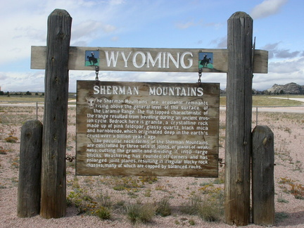 Wyoming Rest Area
