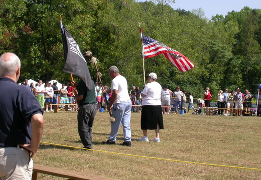 Grand Entry, Flag Bearers
