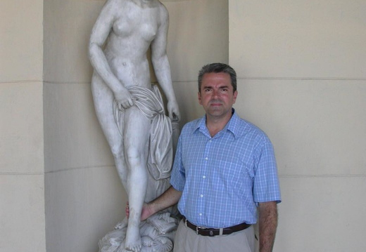 David with Statue