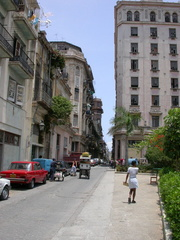 Street Off of Calle Obispo