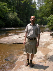 Brian at DuPont State Forest