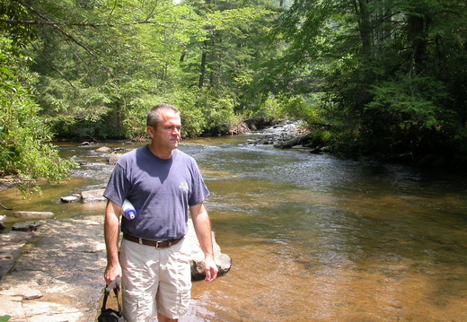 David at DuPont State Forest