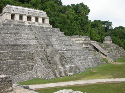 Temple of Inscriptions, Temple XIII and Temple of the Skull