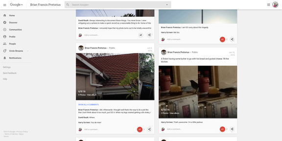 Screenshot 2019-03-31 Brian Francis Pretorius - Google+35